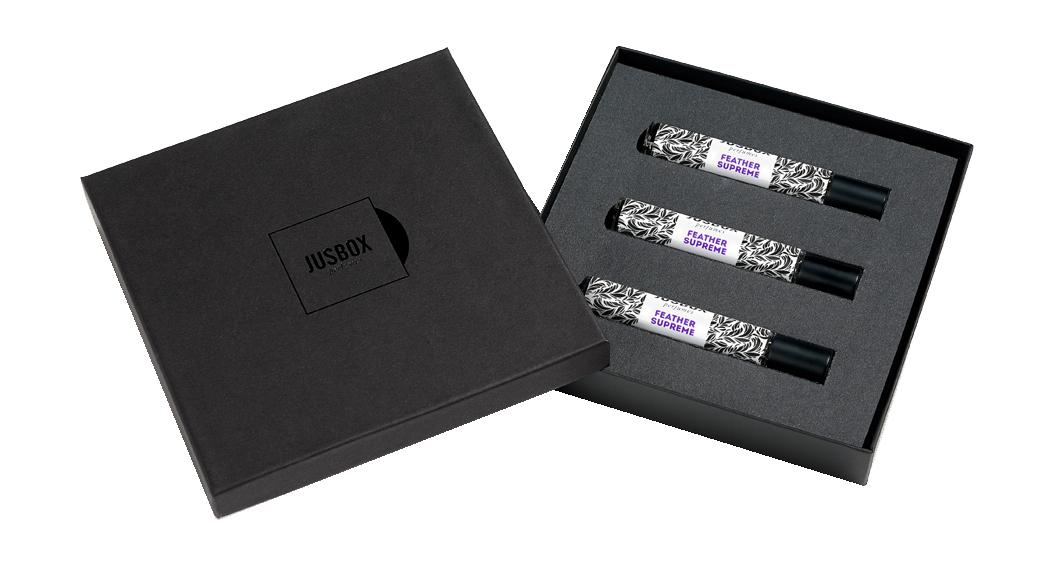 Купить Парфюмерная вода JUSBOX Feather Supreme Eau de Parfum Set, 23, 4мл