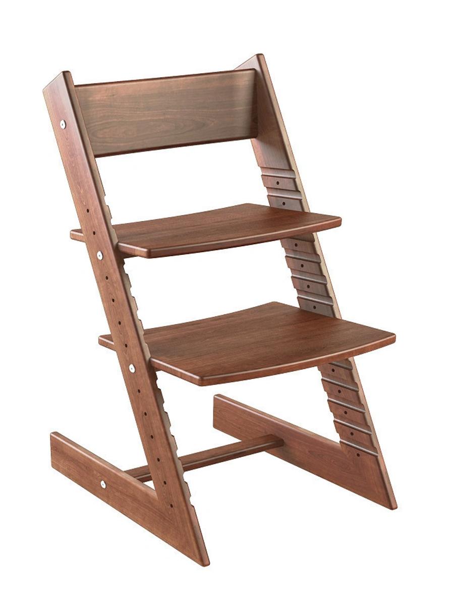 Купить Детский растущий стул из бука Конёк Горбунёк Массив бука Темный бук, Детский растущий стул из бука Конёк Горбунёк (цвет каркаса: темный бук), Конек Горбунек,