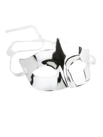 Маскарадная маска Бал в серебре арт.82007 Феникс-Презент