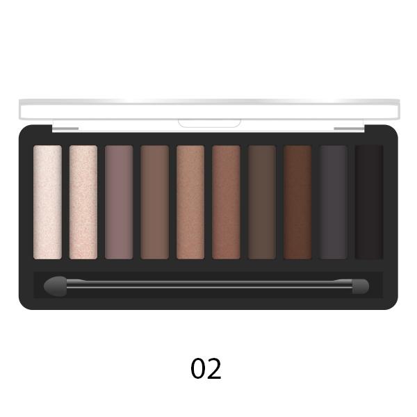 Палетка теней для век PARISA Cosmetics Makeup