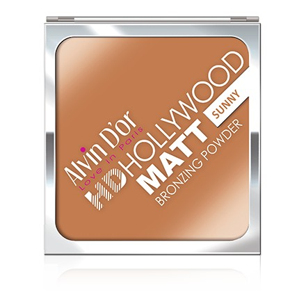 Купить Пудра для лица Alvin D`or, Matt HD Hollywood, тон 02, Alvin D'or