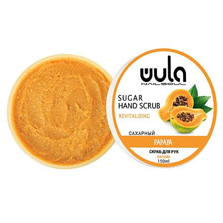 Сахарный скраб для рук WULA Nailsoul «Папайя