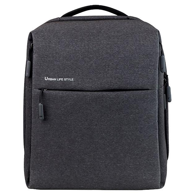 Рюкзак Xiaomi Mi City Backpack темно-серый 17 л фото