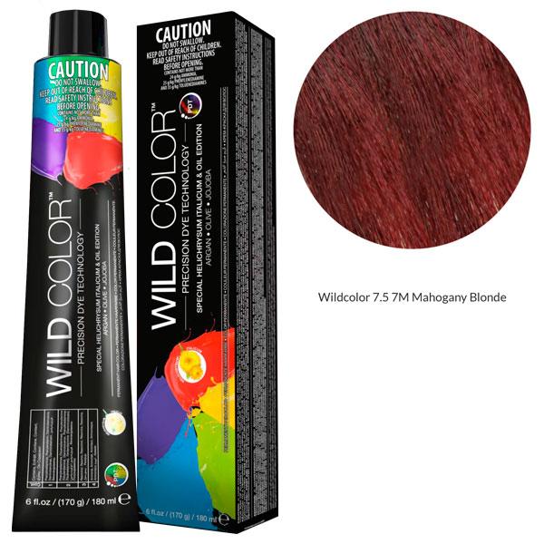 Купить Wildcolor - Стойкая крем-краска Permanent Hair Color 7.5 7M Махагоновый блонд 180 мл