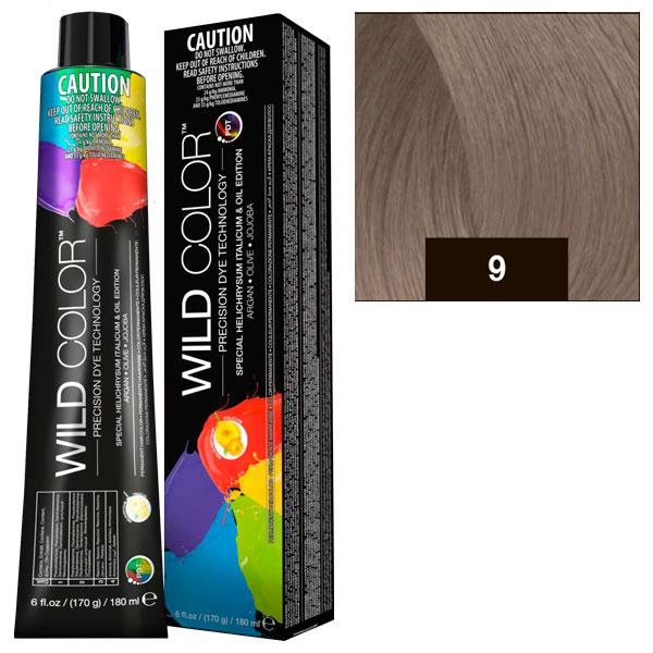 Купить Краска для волос Wildcolor без аммиака 9N Очень светлый блонд 180 мл