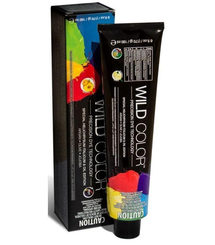 Купить Краска для волос Wildcolor без аммиака 6.1 6A Темно-пепельный блонд коричневый 180 мл