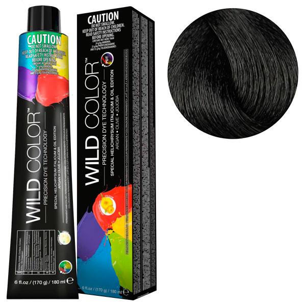 Купить Краска Wildcolor без аммиака для чувствительной кожи 2N Очень темно-коричневый 180 мл