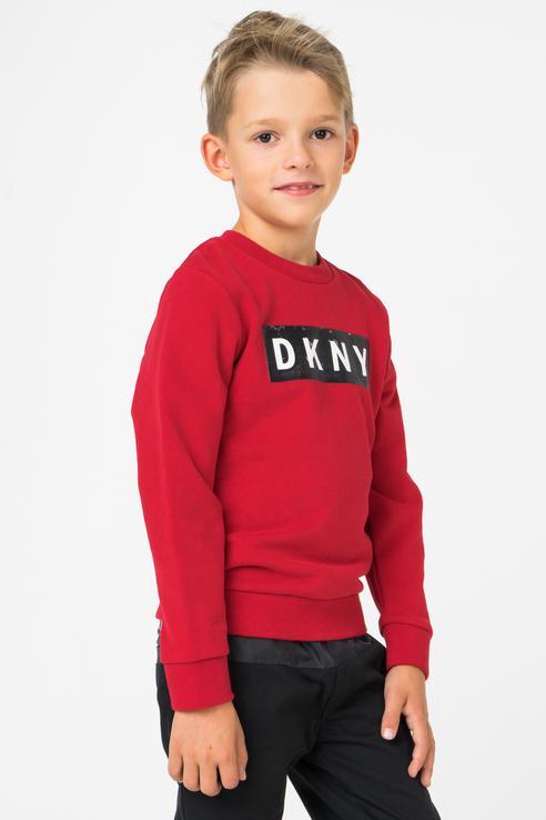 Купить D25C08/975 FW18/19, Свитшот для мальчика DKNY, цв.красный, р-р 126,