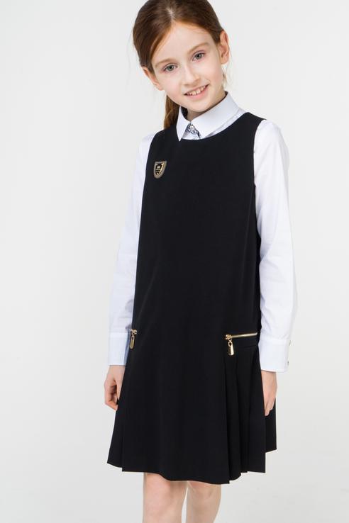 Купить 972-518-ВВОК, Сарафан для девочки Маленькая Леди, цв.чeрный, р-р 122, Маленькая леди, Сарафаны для девочек