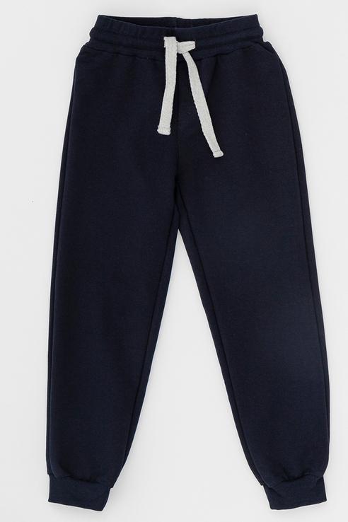 Купить Спортивные брюки Button Blue 220BBBS56011000 цв.синий р.128, Брюки для мальчиков