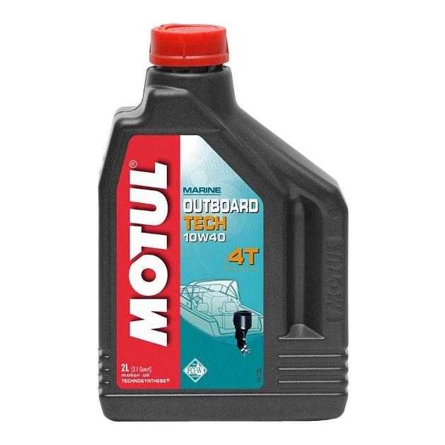 Моторное масло Motul Outboard Tech 4T 10W-40 2л 106368