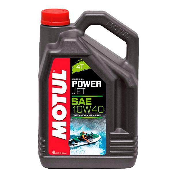Моторное масло Motul PowerJet 4T 10W-40 4л 105874