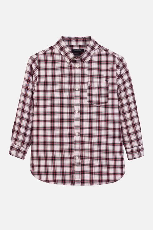 Рубашка для мальчика Mayoral, цв.красный, р-р 166