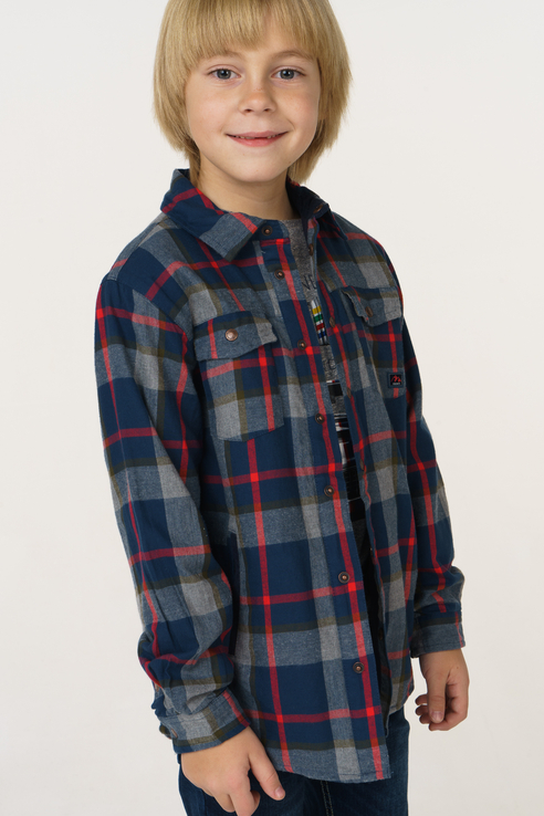 Рубашка для мальчика Mayoral, цв.мультиколор, р-р 110 4136