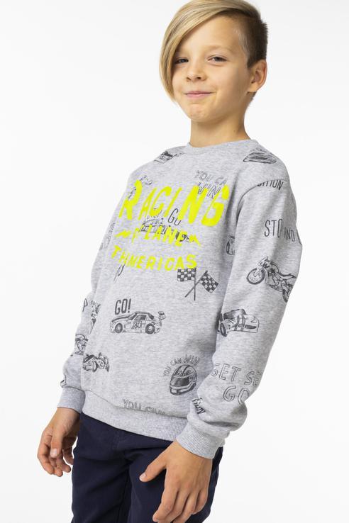 Купить 4438, Пуловер для мальчика Mayoral, цв.серый, р-р 98,