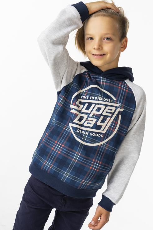Купить 4436, Пуловер для мальчика Mayoral, цв.серый, р-р 128,