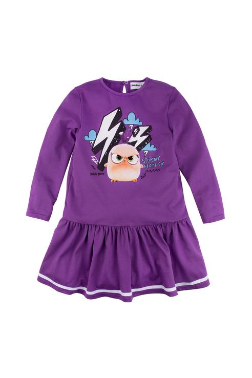 Купить 128АБ-161, Платье для девочки Bossa Nova, цв.фиолетовый, р-р 110,