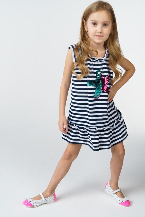 Платье для девочки BAON, цв.белый, р-р 98 BK458004