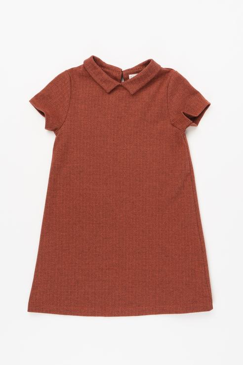 Платье для девочки Artie, цв.коричневый, р-р 128 Artie   фото