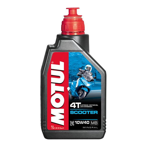 Моторное масло Motul Scooter 4T 10W-40 MB 1л 105937
