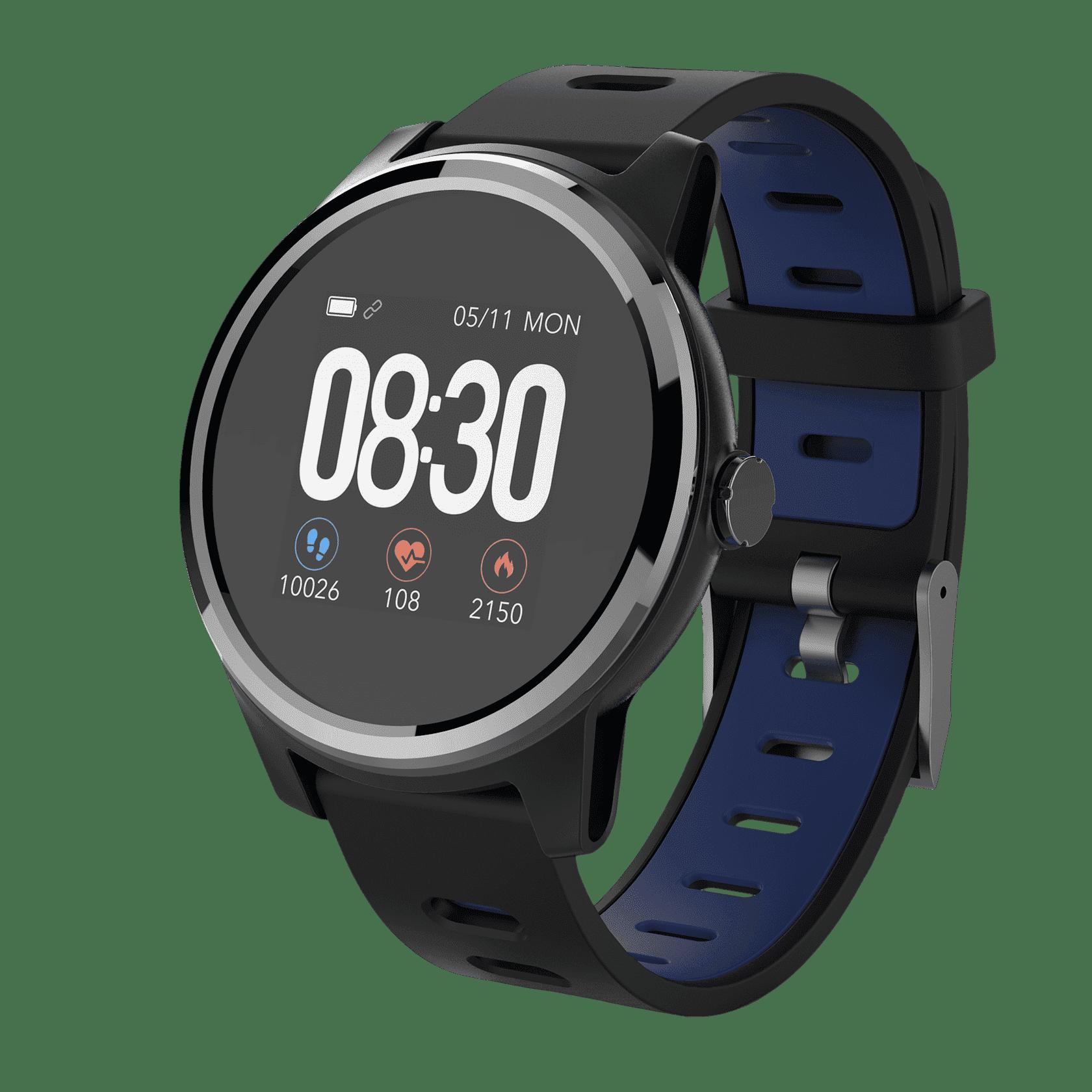 Смарт часы Geozon Vita Plus Black/Black