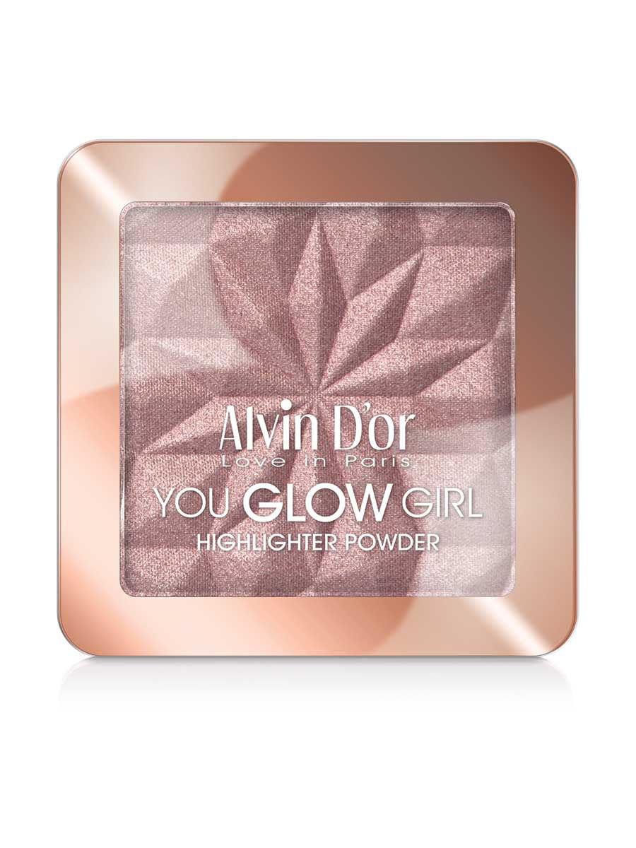 Купить Хайлайтер Alvin D`or You Glow Girl, тон 04, Alvin D'or