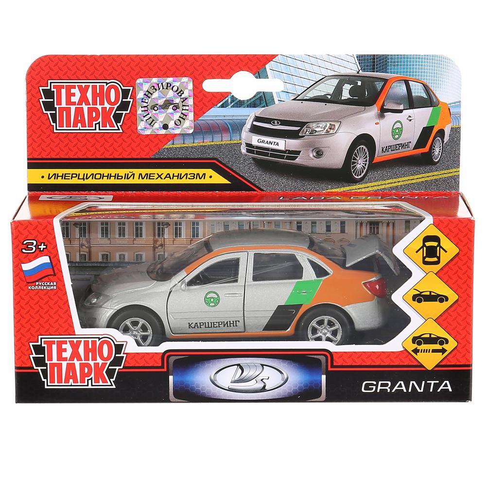 Купить Модель машины Технопарк Lada Granta Каршеринг, инерционная SВ-16-41-СS-WВ,