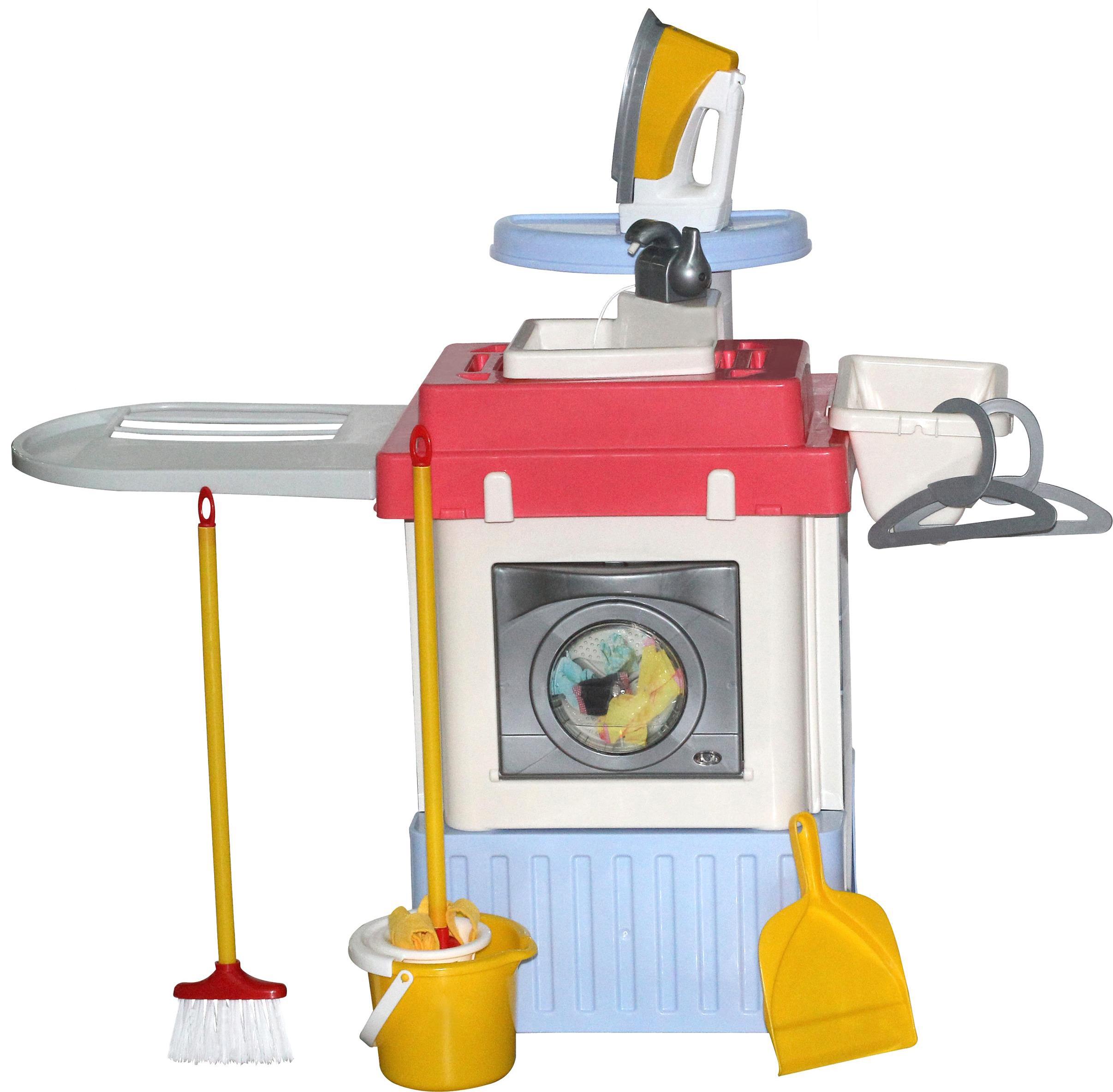 Купить Игровой комплекс Полесье Infinity Premium №1, со стиральной машиной 42330,