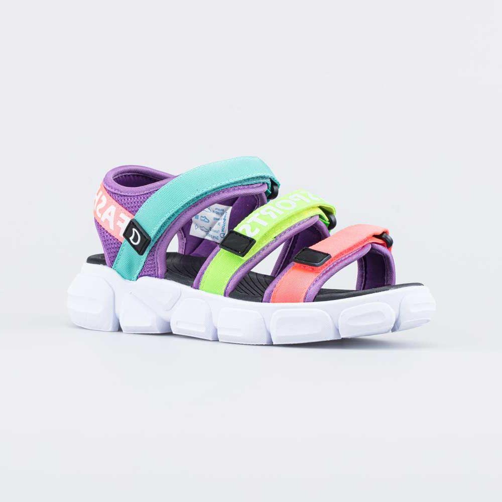 Купить Пляжная обувь для девочек Котофей 721002-14 разноцветный р.36,