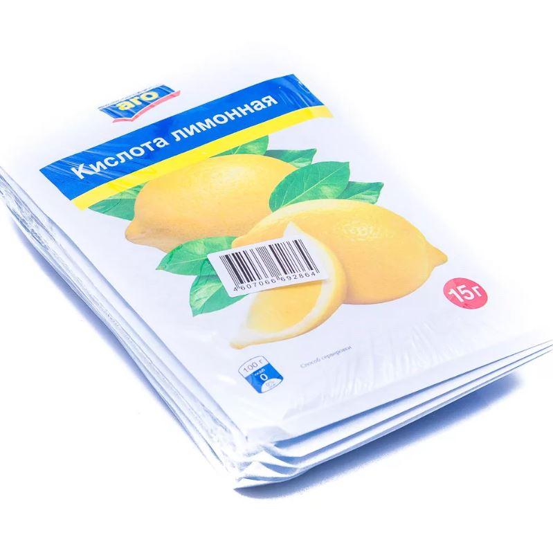 Лимонная кислота Aro 15 г 5 штук