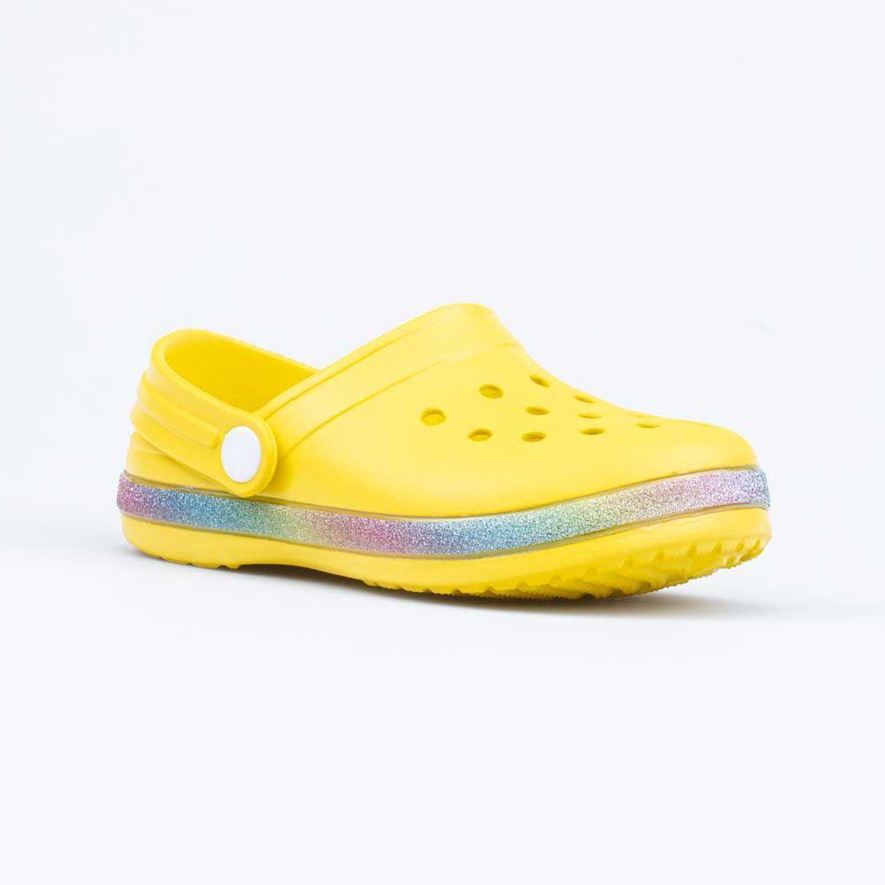 Купить Пляжная обувь для девочек Котофей 525094-01 желтый р.34,