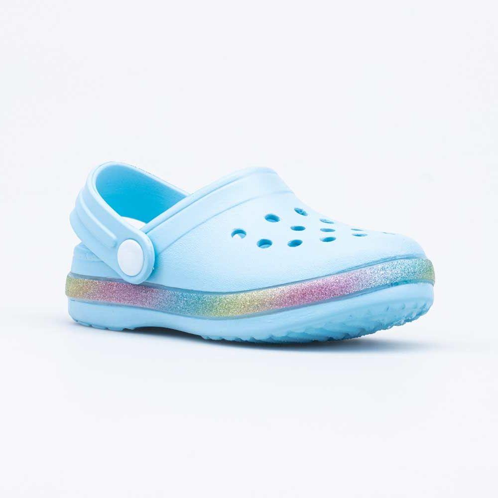 Купить Пляжная обувь для девочек Котофей 325114-02 голубой р.28,