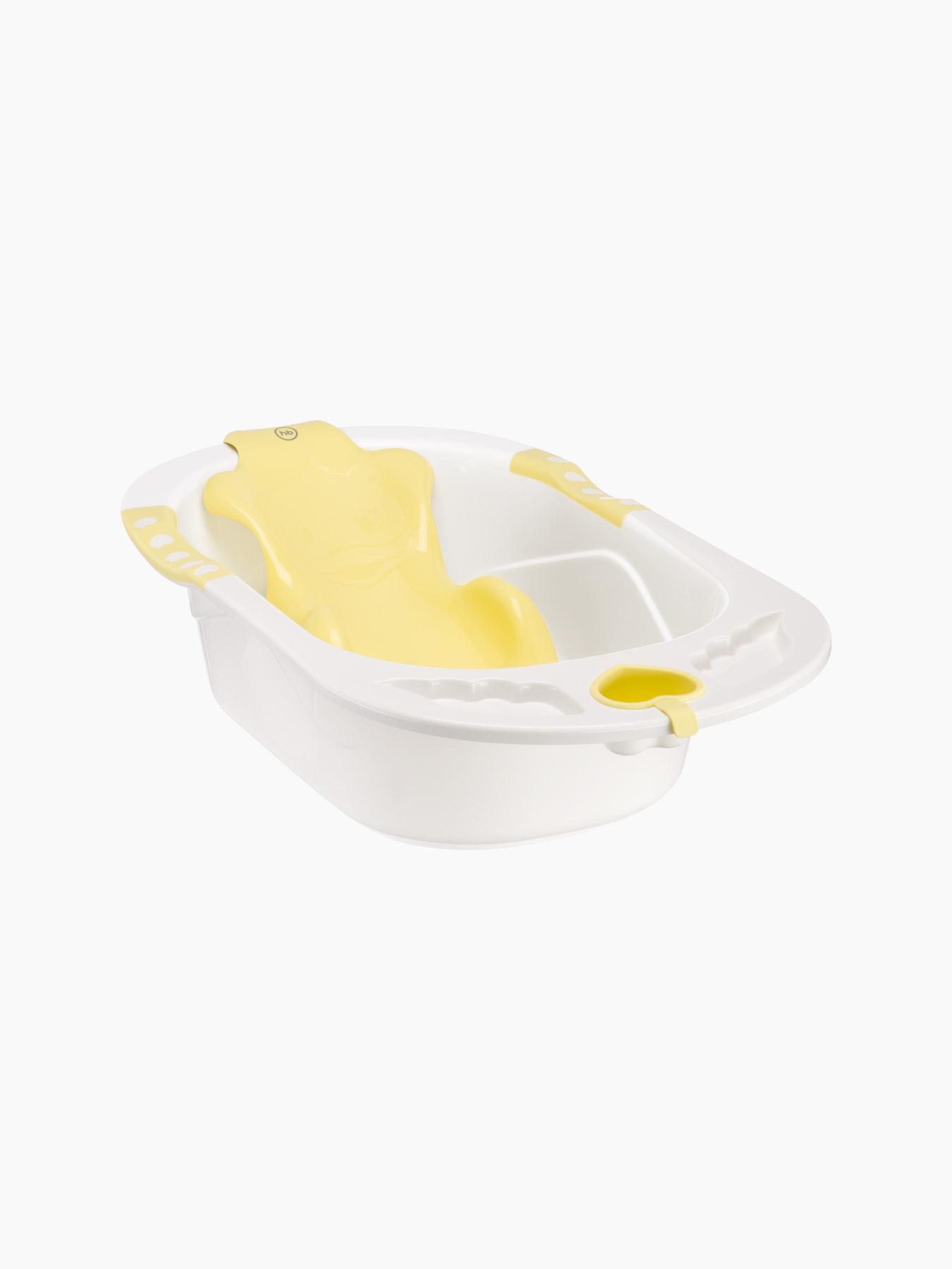 Купить 34005, Ванна детская Happy Baby BATH COMFORT, yellow,
