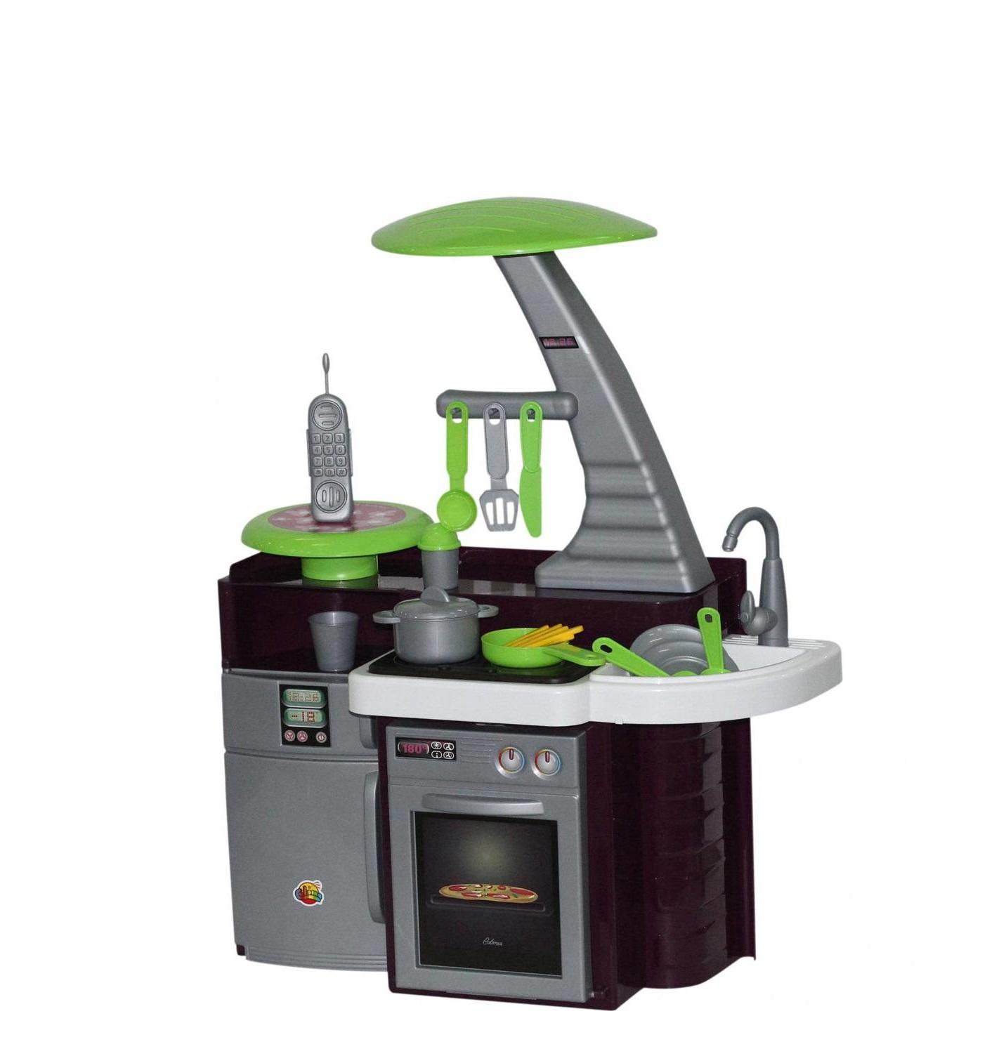 Купить Игровой комплекс Полесье Кухня Laura, с варочной панелью 56320,