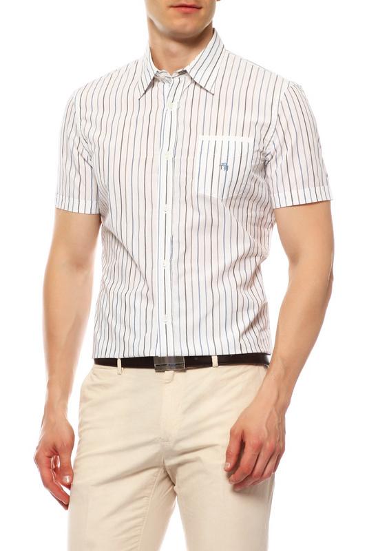 Рубашка мужская Tru Trussardi 524313 белая L