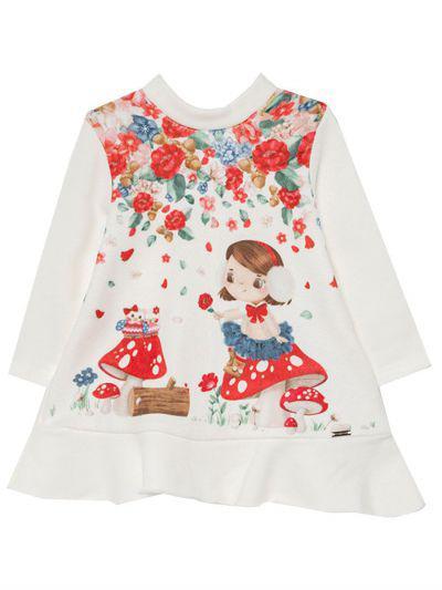 Платье для девочек Mayoral цв. белый р.86
