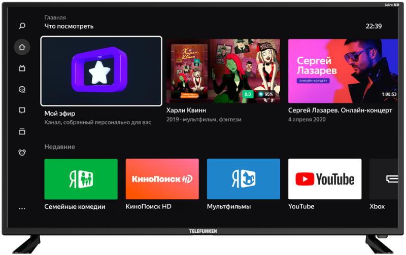 LED Телевизор 4K Ultra HD Telefunken TF-LED43S05T2SU
