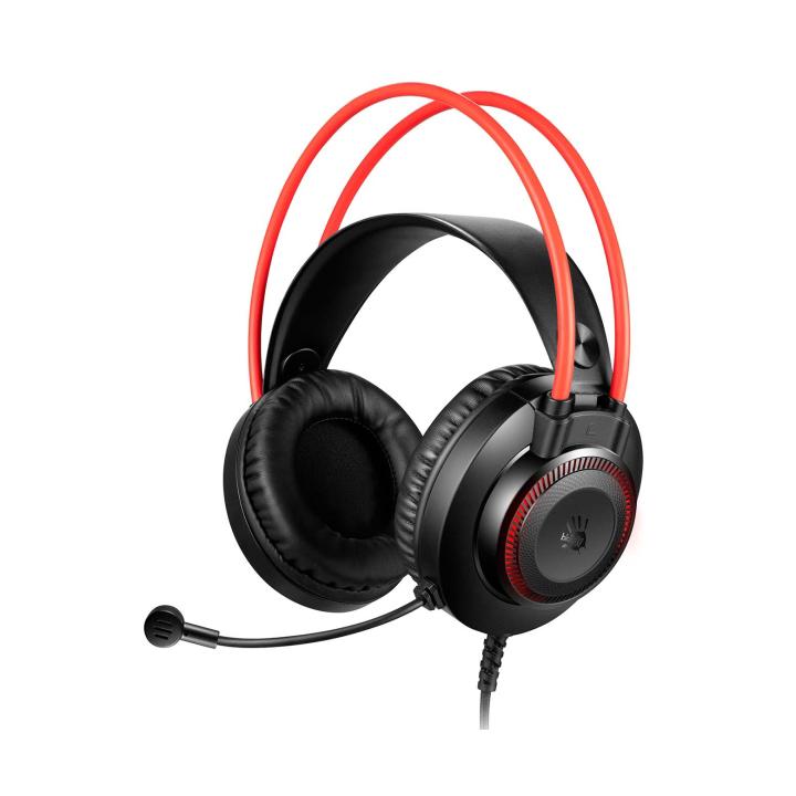 Игровая гарнитура A4Tech Bloody G200S Red/Black