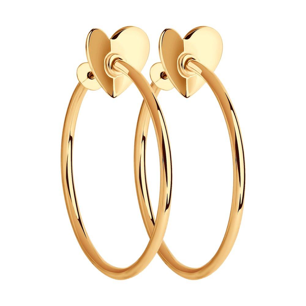 Серьги женские из золота SOKOLOV 029352