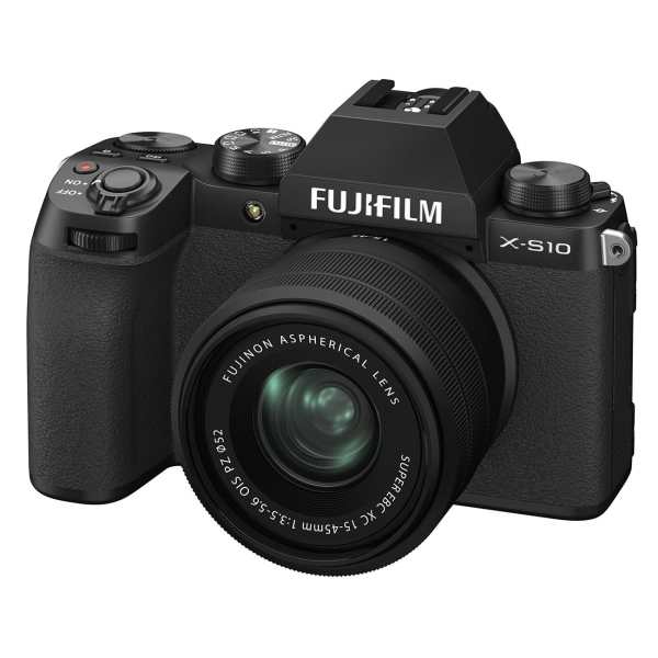 Фотоаппарат системный Fujifilm X-S10 18-55mm Black X-S10 15-45mm