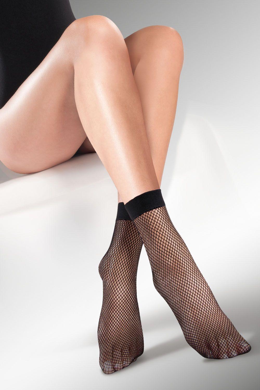 Капроновые носки женские Gabriella 613 Kabarette черные One size