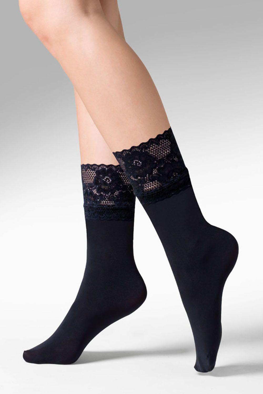 Капроновые носки женские Gabriella 686 Nina черные One size