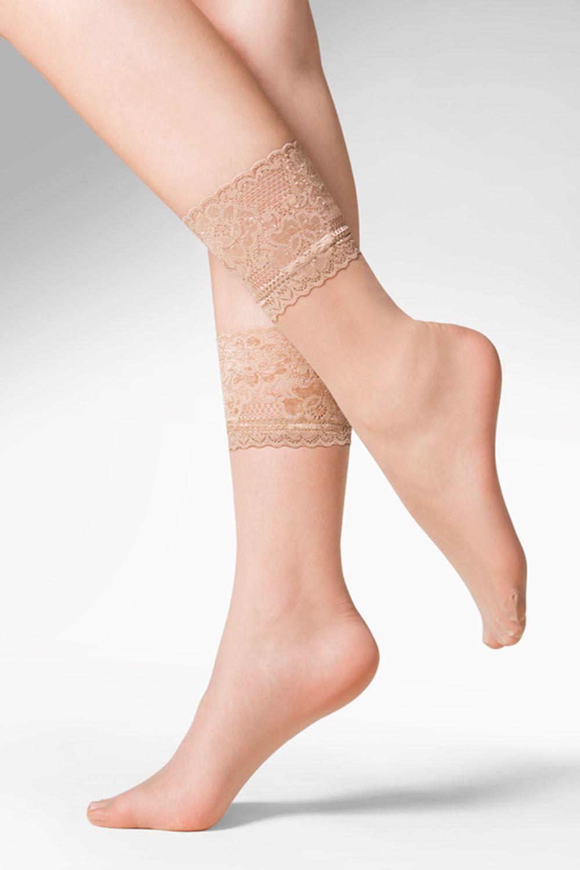 Капроновые носки женские Gabriella 690 Kala бежевые One size