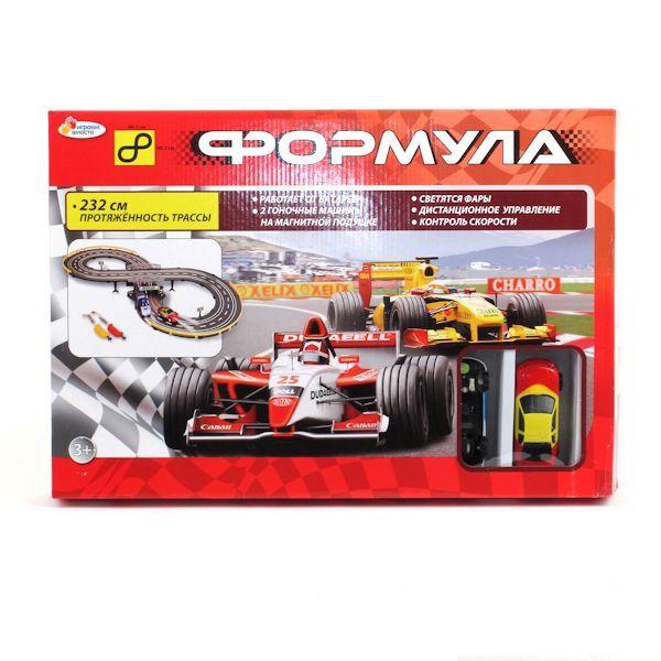 Купить Трек Играем Вместе Формула со световыми эффектами 6030 (RUS),