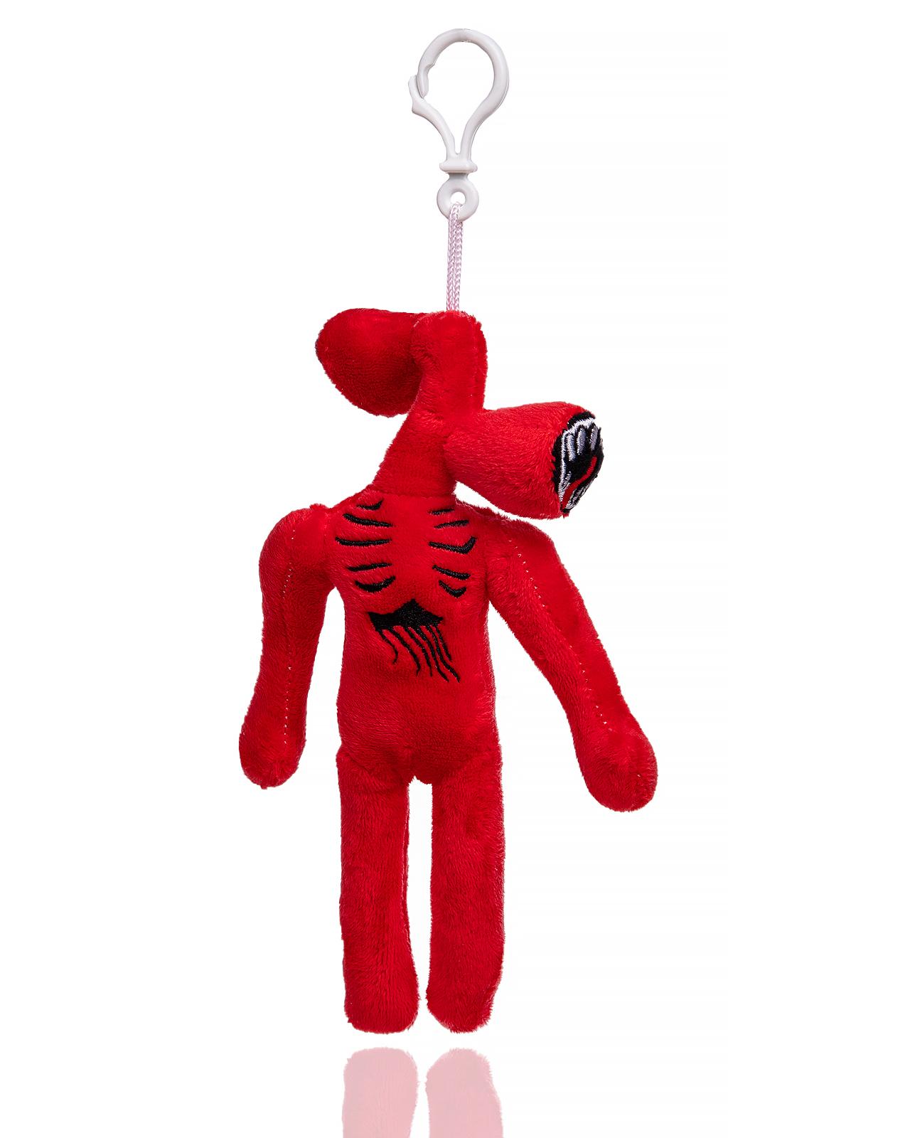 Купить Мягкая игрушка монстр Siren Head сиреноголовый красный длинноногий с карабином, 20 см, wellywell,