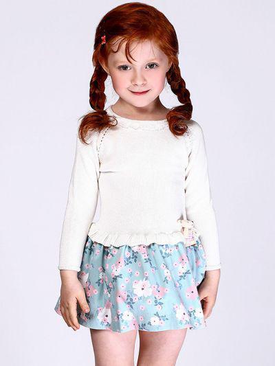 Платье для девочек Noble People цв. разноцветный