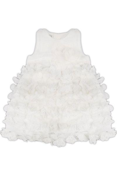 Платье для девочек Amigo7seven цв. белый р.74-80
