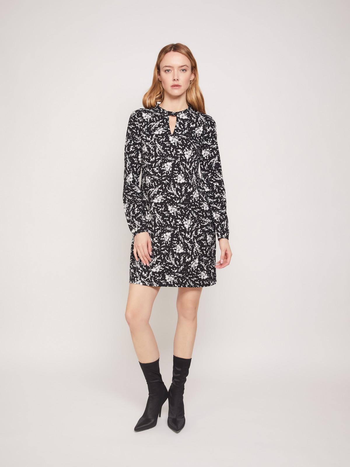 Платье женское Zolla 02133819F02299P0 черное XXL