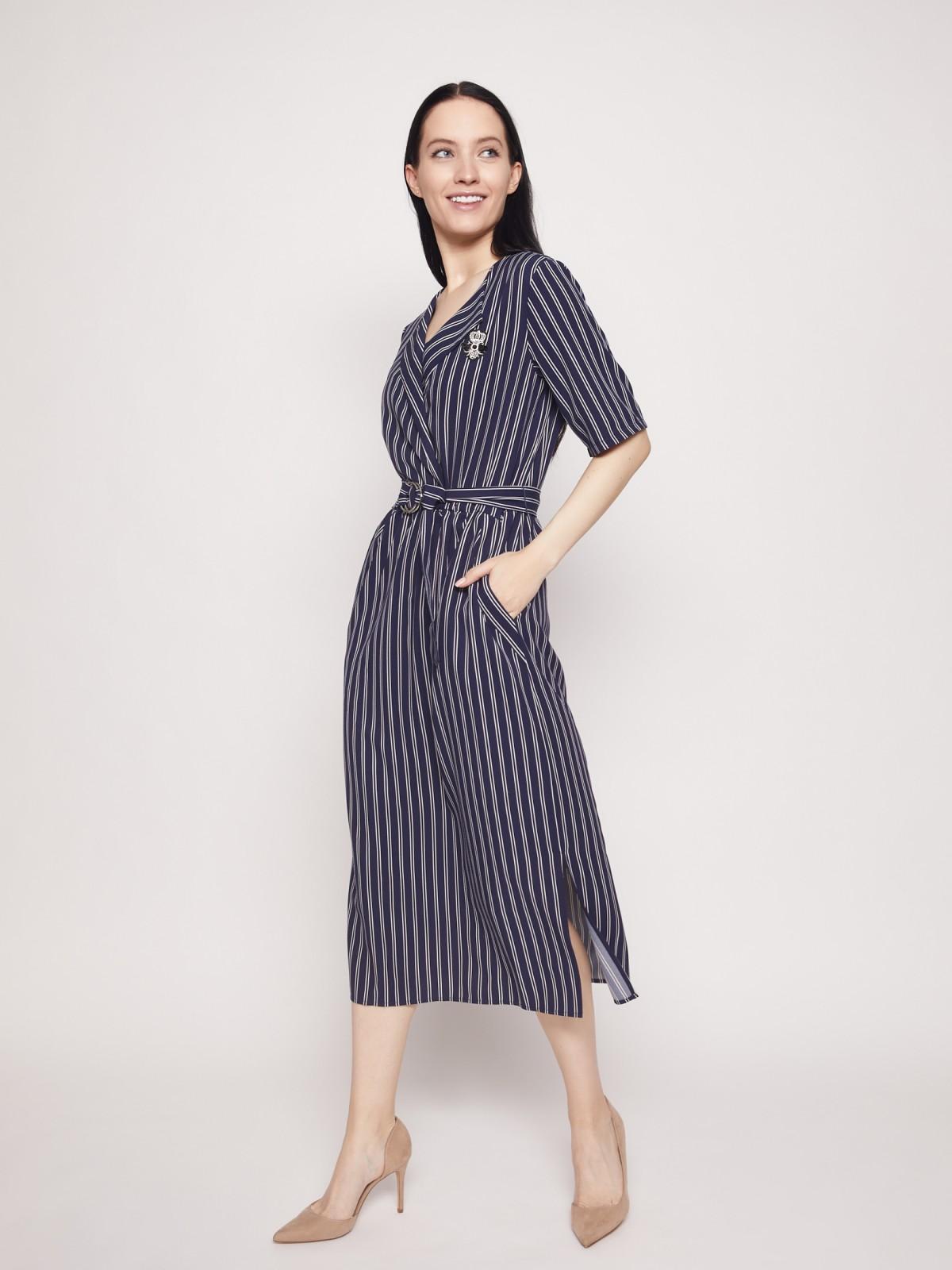 Платье женское Zolla 02131823006359S0 синее XL