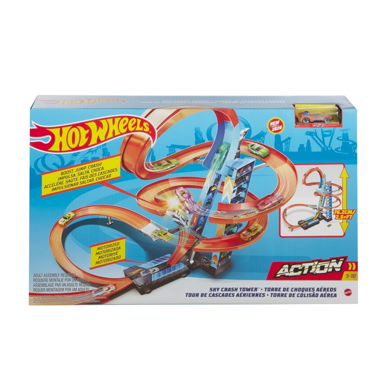 Mattel Hot Wheels® Игровой набор - Падение с башни,  - купить со скидкой